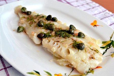 Рецепт рыба с соусом